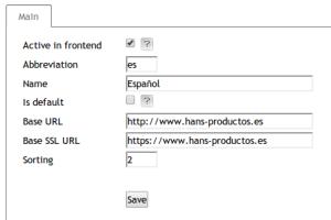 language dependent base URL in OXID eShop